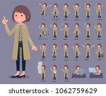 flat type stand fall collar... | Shutterstock .eps vector #1062759629
