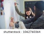 teenage girls entrepreneurs   Shutterstock . vector #1062760364