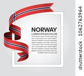 norway flag background | Shutterstock .eps vector #1062763964