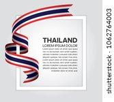 thailand flag background   Shutterstock .eps vector #1062764003