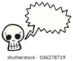 cartoon skull | Shutterstock . vector #106278719