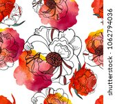 bright seamless pattern with... | Shutterstock .eps vector #1062794036