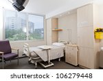 hospital ward with bed and... | Shutterstock . vector #106279448