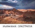 moon valley  valle de la luna   ... | Shutterstock . vector #1062796316