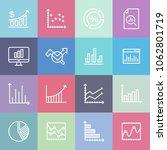 statistic analyst   minimal... | Shutterstock .eps vector #1062801719