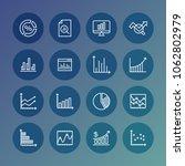 percentage profit presentation... | Shutterstock .eps vector #1062802979