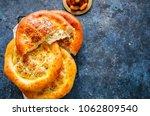 turkish ramazan pidesi  ...   Shutterstock . vector #1062809540