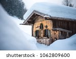 old traditional wooden cabin...   Shutterstock . vector #1062809600