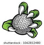 a monster or animal claw...   Shutterstock .eps vector #1062812480