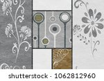 marble wall and floor for... | Shutterstock . vector #1062812960