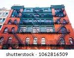 old classic building in soho ... | Shutterstock . vector #1062816509