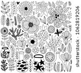 nature vector elements... | Shutterstock .eps vector #1062819206
