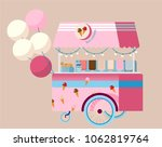 creative detailed vector ice... | Shutterstock .eps vector #1062819764