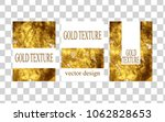 gold texture minimal unequaled... | Shutterstock .eps vector #1062828653