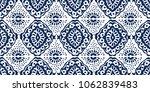 ikat seamless pattern. vector... | Shutterstock .eps vector #1062839483