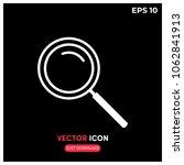 search vector icon illustration....