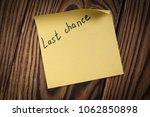 black handwritten inscription... | Shutterstock . vector #1062850898