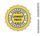 lower price guarantee label... | Shutterstock .eps vector #1062853070