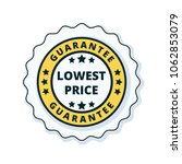 lower price guarantee label... | Shutterstock .eps vector #1062853079