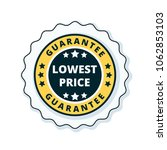 lower price guarantee label... | Shutterstock .eps vector #1062853103