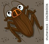 vector illustration of cartoon... | Shutterstock .eps vector #1062860036