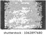 black and white abstract vector ... | Shutterstock .eps vector #1062897680