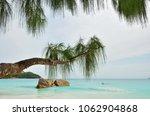 seychelles islands landscape at ... | Shutterstock . vector #1062904868