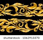 vintage baroque frame scroll... | Shutterstock .eps vector #1062913370