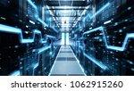 shot of corridor in working... | Shutterstock . vector #1062915260