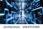 male it engineer works on a... | Shutterstock . vector #1062915284