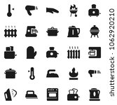 flat vector icon set   iron... | Shutterstock .eps vector #1062920210