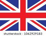 flag of the united kingdom...   Shutterstock .eps vector #1062929183