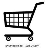 shopping cart icon  vector  | Shutterstock .eps vector #10629394