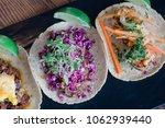 korean short rib taco. red...