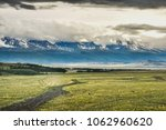 road in the mountains. mountain ... | Shutterstock . vector #1062960620