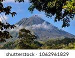 arenal volcano near la fortuna  ...   Shutterstock . vector #1062961829
