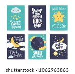 bundle of colorful poster or... | Shutterstock .eps vector #1062963863