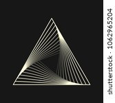 sacred geometry. graphic linear ... | Shutterstock .eps vector #1062965204