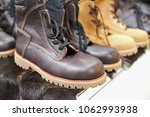 Working Boots Made Of Leather...