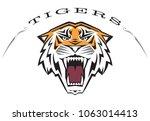 custom  ferocious  3 color... | Shutterstock .eps vector #1063014413