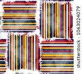 seamless pattern tartan design. ...   Shutterstock . vector #1063024079