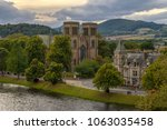 inverness  inverness shire  uk  ... | Shutterstock . vector #1063035458