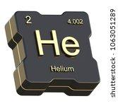 helium element symbol from... | Shutterstock . vector #1063051289