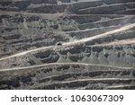 chuquicamata  world's biggest... | Shutterstock . vector #1063067309