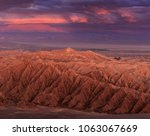 valley of death or mars valley... | Shutterstock . vector #1063067669