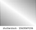 dots dotted halftone background.... | Shutterstock .eps vector #1063069106