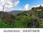 view of ein karem in jerusalem  ...   Shutterstock . vector #1063076828