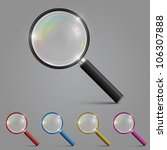 Magnifying Glass Set Color ...
