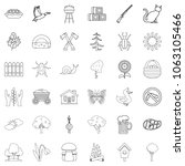 country icons set. outline... | Shutterstock . vector #1063105466