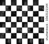 black and white checkered plaid ... | Shutterstock . vector #1063121144